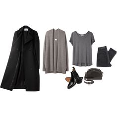 """Minimal + Classic: taupe, charcoal & black in """"xo"""" by sssttle"""
