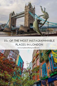 36 Of The Prettiest and Most Instagrammable Places in London + A Map of Where to Find Them Europe Destinations, Europe Travel Tips, European Travel, Travel Guides, Places To Travel, Travelling Europe, Travel Abroad, Holiday Destinations, Travel Pictures