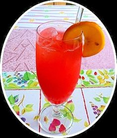 「はやりのノンアルコールカクテル!レッド・ソンブレロ」サッパリ味のノンアルコールカクテルです。【楽天レシピ】