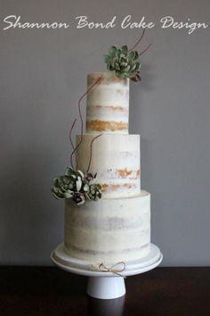 Semi-naked Cake - Cake by Shannon Bond Cake Design