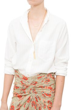 Isabel Marant Etoile Ninon Shirt at DIANI #crisp