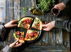 Homemade pizza with bresaola by Natasha Breen - Photo 230334353 / 500px