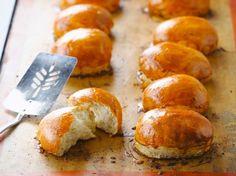 Brioche facile maison Vegan Banana Bread, Banana Bread Recipes, Krups Prep Cook, Brioche Bread, Naan Recipe, Burger Buns, Eat Smart, Daily Meals, How To Make Bread