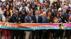 Metro threw a party in Leimert Park Saturday to celebrate progress on the much-anticipated new rail line that will finally connect LAX to the rest of the area's growing transit network. It's one of a few parties Metro has been throwing lately.