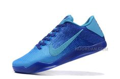 sports shoes b4239 8742f 2016 Nike Kobe 11 XI Elite Low Mens Basketball Shoes Royal Blue Sneakers  Online Cheap For Sale