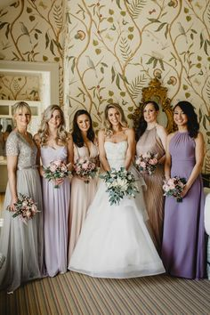 Get lots of ideas for your own big day, with Laura & Cillian's spectacular Virginia Park Lodge wedding with glam style, gorgeous florals, and fireworks. Bridesmaids, Bridesmaid Dresses, Wedding Dresses, Park Lodge, Lodge Wedding, Big Day, Virginia, Wedding Flowers, Floral
