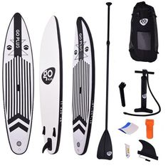 Goplus 11 SUP Inflatable Cruiser Stand Up Paddle Board iSUP 6 Thickness Fins Thuster Adjustable Paddle Pump Kit and Backpack >>> See this great product. (This is an affiliate link) Best Inflatable Paddle Board, Inflatable Sup, Best Stand Up, Running On Treadmill, Standup Paddle Board, Different Sports, Water Toys, Paddle Boarding, Water Sports
