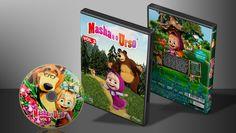 Masha E O Urso - Volume 3 - Capa   VITRINE - Galeria De Capas - Designer Covers Custom   Capas & Labels Customizados