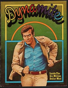 How about a double-dose of retro Bionic goodness? Above Image: Dynamite Cover Steve Austin (Lee Majors) and Jamie Summers (Lindsay Wag. Lee Majors, Bionic Woman, Lp Cover, Old Tv Shows, Best Vibrators, Classic Tv, Back In The Day, Childhood Memories, 1970s Childhood