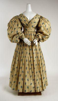 1829 British Cotton Dress | The Metropolitan Museum of Art