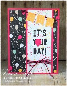 A La Cards: It's Your Day!