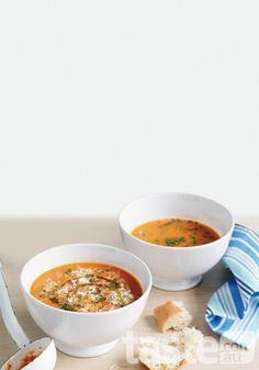 Rich Vegetable Soup  : Twenty Two Super Soups : Warm UP!