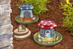 Want to learn how to make a fairy garden the easy way? This DIY fairy garden utilizes pots and only takes four steps! Get the fairy house how-to here. Fairy Garden Pots, Indoor Fairy Gardens, Garden Yard Ideas, Fairy Garden Houses, Miniature Fairy Gardens, Garden Crafts, Garden Steps, Flower Pot Crafts, Clay Pot Crafts