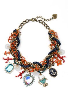 Betsey Johnson 'Under the Sea' Multistrand Statement Necklace available at #Nordstrom