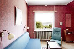 vintage Scandinavian interior design