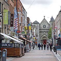 By baurjoe: Looking down off Grafton Street in #Dublin.  #ireland #canon #landscape #contratahotel