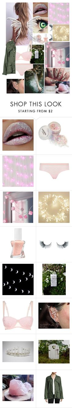 """my version of a fairy 💞🤙🏽"" by itsgracie18 ❤ liked on Polyvore featuring Mimi Holliday by Damaris, Essie, Unicorn Lashes and Ramy Brook"