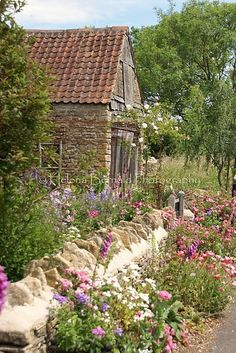 Old country house and garden