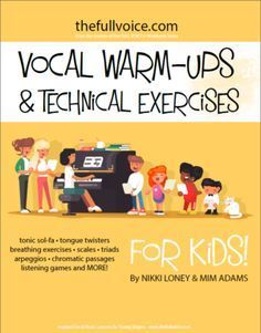 Free Download from Vocal Warm-ups and Technical exercises for KIDS. Fun activities for kids ages 6 to 16!