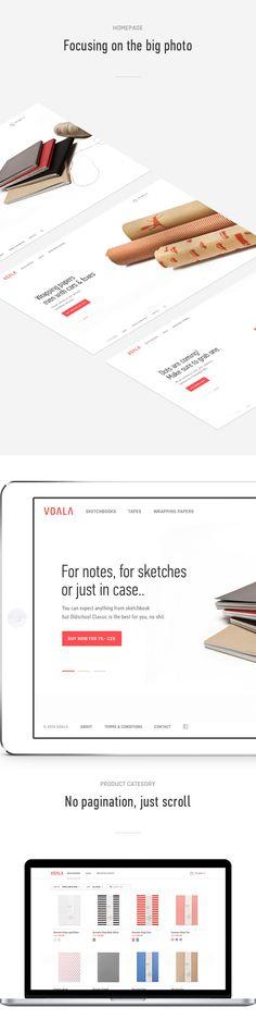 Voala Sketchbooks on Behance