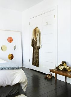 white interior door via sfgirlbybay