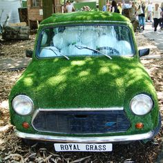 artificial-grass-car