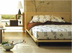 Japanese style bed Japanese Style Bed, Bed Styling, Home Bedroom, Modern, House, Bed Rooms, Inspiration, Furniture, Asian