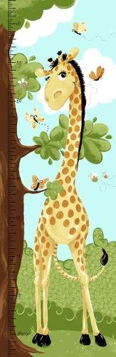 Giraffe Growth Chart SB20059