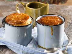From the YOU test kitchen:  Sticky apple puddings