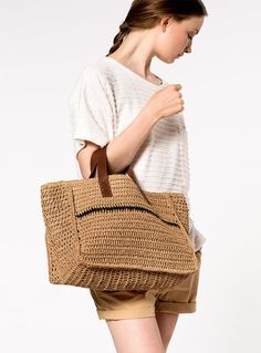 Crochet Bolso Paleta
