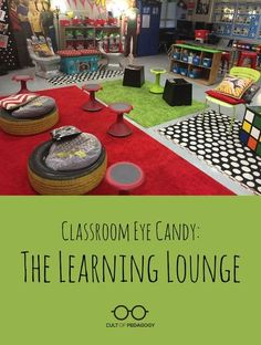 This no-desks classroom dazzles with bright pops of color, tons of student choice, and a Tardis that's more than meets the eye. Enjoy the second classroom in the Classroom Eye Candy series! #CultofPedagogy