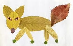 Fall leaf craft.
