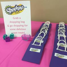 Shopkins party favor bags #spkbirthdays
