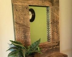 Rustic Wood Mirror Pallet Furniture Rustic Home Decor