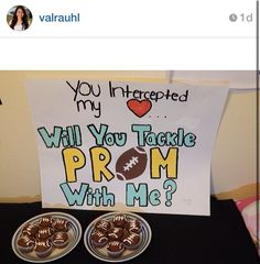 Saw this on IG and thought this was the cutest way to ask a boy to prom :)