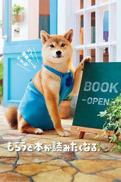 ハイ!図書カードですね。 もらうと本が読みたくなる。 図書カード Japan Advertising, Advertising Design, Ad Layout, Book Layout, Cute Baby Animals, Animals And Pets, Japon Tokyo, Hachiko, Japanese Dogs