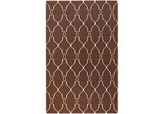 Shop for a Moroccan Brown-Ivory 5 x 8 Rug at Rooms To Go. Find Rugs that will look great in your home and complement the rest of your furniture.