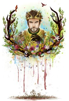A Song of Ice and Fire - Renly Baratheon by tothestrongest #got