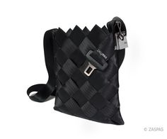 Recycled seatbelts bag - BLK 86-13