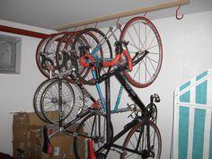Хранение велосипедов в зимнее время