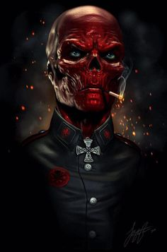 Reposting And closing the night with one of marvel's creepiest villains and for me that would be Red Skull. Do u want red skull back in the marvel universe? Comic Book Characters, Comic Book Heroes, Marvel Characters, Comic Character, Comic Books Art, Comic Art, Comic Poster, Ms Marvel, Marvel Comics Art
