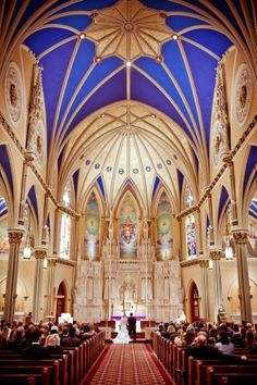 Assumption Catholic Church Wedding chapel | St. Paul, MN | Wedding ...