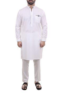 100% Cotton Kurta Shalwar In this product includes: 1. Kurta 2. Shalwar