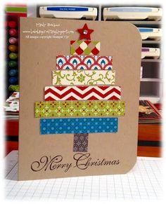 Bada-Bing! Paper-Crafting!: O Christmas Tree