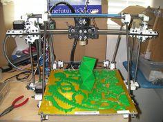 12 x 12 heated build platform reprap mendel printer $1700
