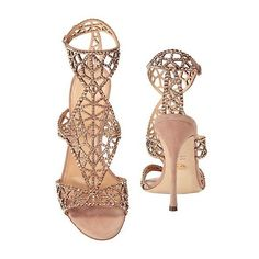 SERGIO ROSSI EMBELLISHED TRESOR T-STRAP SANDALS, BLUSH (675 SGD) ❤ liked on Polyvore featuring shoes, sandals, t-bar sandals, t-strap shoes, embellished shoes, sergio rossi and t-bar shoes