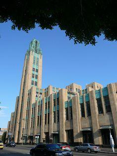 ~Art Deco~       <3                                     Bullocks Wilshire Department Store by john parkinson and daniel parkinson