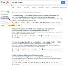 Hoy os traigo a Luis Revuelto, consultor SEO experto en lograr enlaces entrantes de calidad para posicionar sin ser penalizados por Google. ¡Super tutorial!