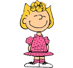 Sally Brown is a major female character in the comic strip Peanuts by Charles M. Schulz. She was introduced to the strip in 1959. She is the younger sister of Charlie Brown.