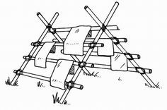 boy scout lashing projects | Pioneer Ropes, Towel Racks, Kamp Droger, Towels Racks, Scouts Ideas
